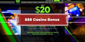 888 Casino No Deposit Bonus – GET $20 FREE