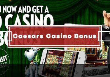 Caesars Casino No Deposit Bonus - GET $10 FREE