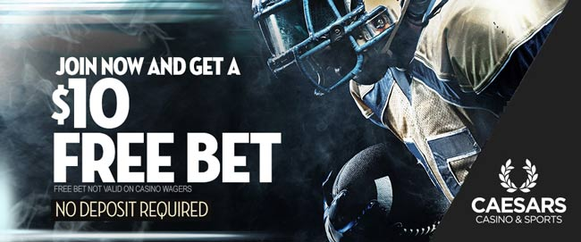 Caesars Sports Betting Bonus Code: Get $300 Free Bets