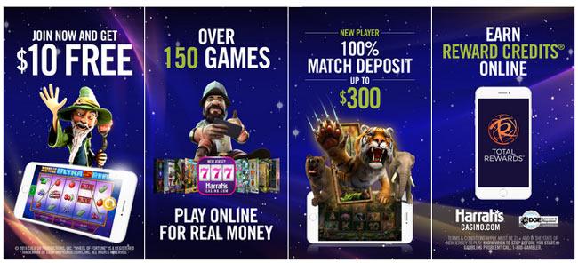 harrahs casino app