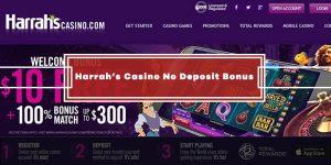Harrah's Casino No Deposit Bonus – Get $10 Free