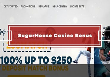 SugarHouse Casino - 100% First Deposit (Bonus Code: 250MATCH)