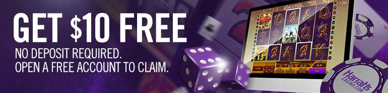 Harrah's Casino No Deposit Bonus