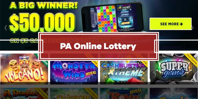 PA Online Lottery Games - Get $5 Free Bonus | GamblerSaloon USA