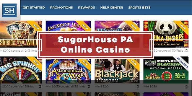 SugarHouse Online Casino PA Guide