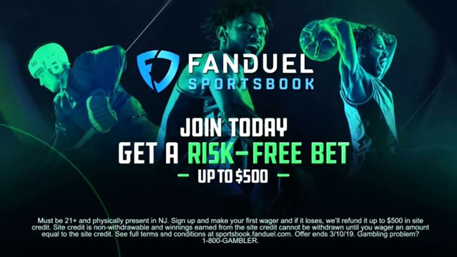 fanduel free bet bonus code