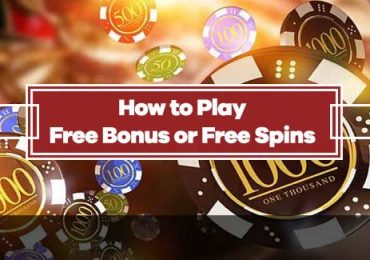 How to Play Free Bonus and Free Spins at Legal US Online Casinos