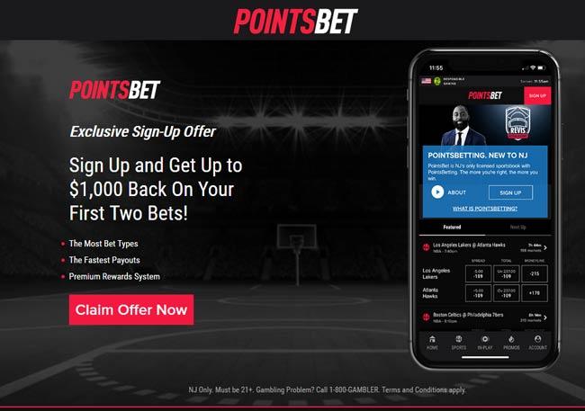 pointsbet no deposit free bet