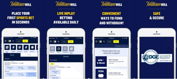 william hill new jersey betting app