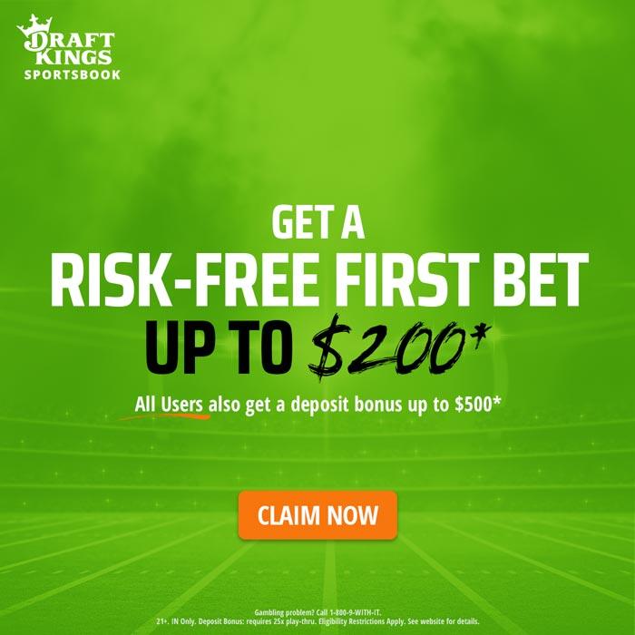 DraftKings NFL Betting Bonus $700
