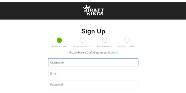 draftkings sign up