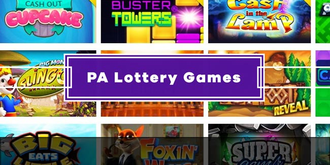 PA Lottery Games Online PAiLottery.com
