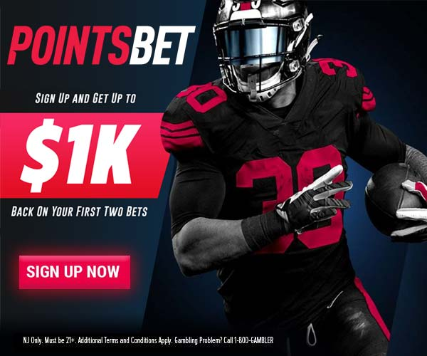 pointsbet $1000 free bets