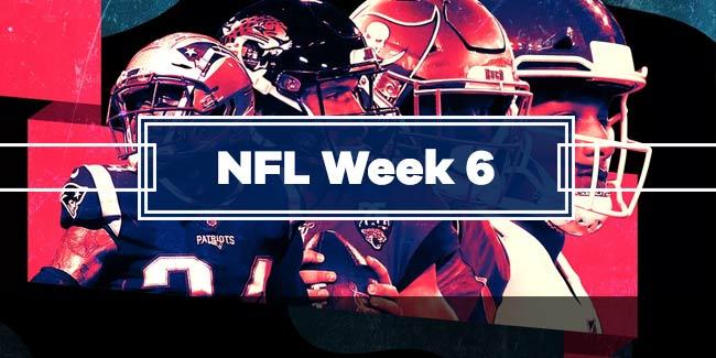 Nfl Week 6 Picks Winning Tips On Every Game Gamblersaloon