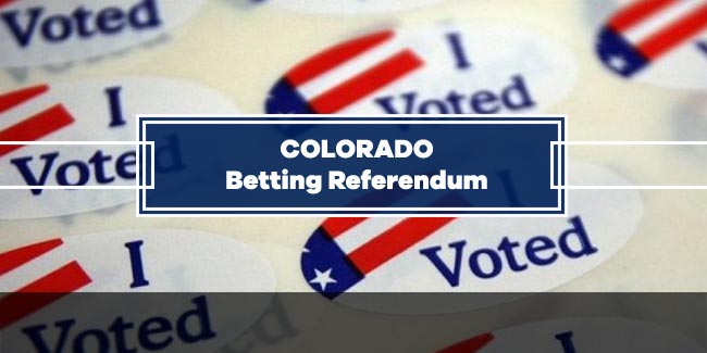 Colorado has Legalized Sports Betting through a Referendum