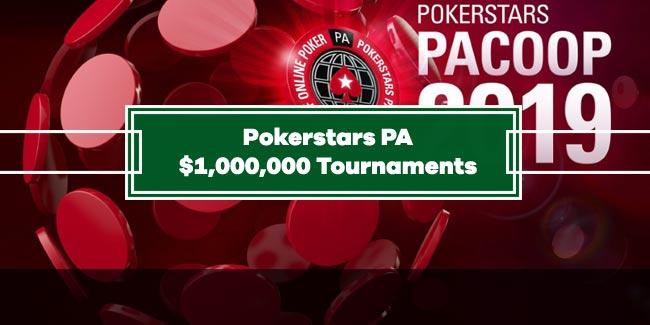 PokerStars launched PA Online Poker Championship with 1$ Million Tournaments