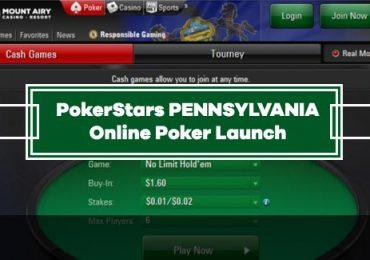 PokerStars Launches Online Poker in Pennsylvania