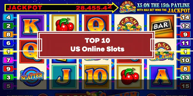 Top 10 US Online Slots with Free Spins