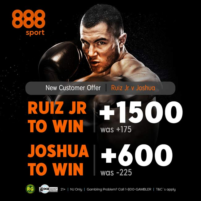 Ruiz Joshua Enhanced Odds