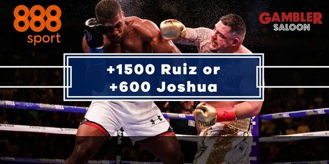 Ruiz vs Joshua 2 Enhanced Odds At 888sport