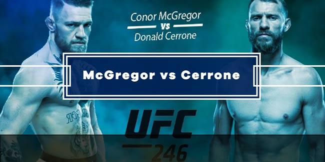 Mcgregor Vs Cerrone Picks Predictions Odds Free Bets