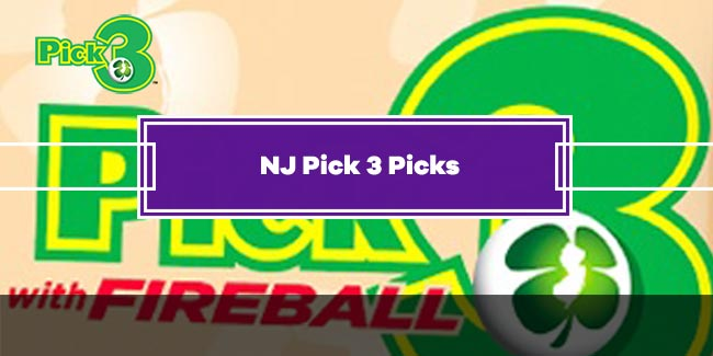 NJ Pick 3 - Today's Smart Picks!