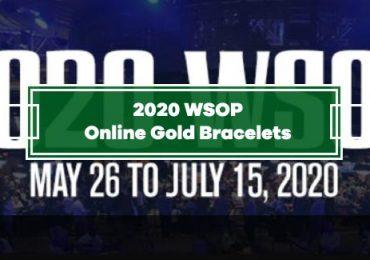 WSOP Announces 2020 Online Gold Bracelet Events