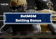 BetMGM Betting Bonus Up To $600 In Free Bets