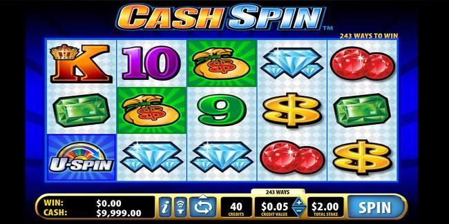 Cash Spin Online Slot Symbols
