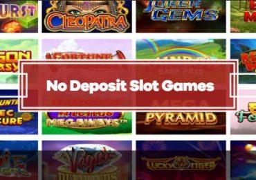 Top No Deposit Slot Games 2020