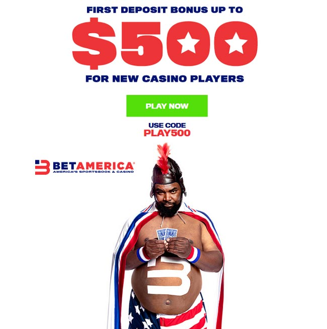 betamerica online casino first deposit bonus