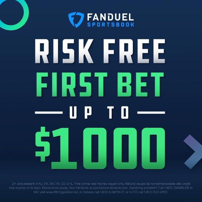 fanduel sportsbook $1000 Bonus