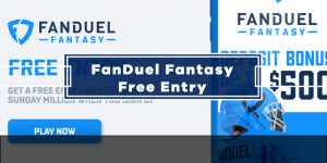 Get A Free Entry Into FanDuel $3M Sunday Million
