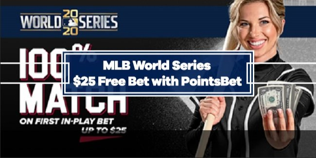 MLB World Series In-Play Bets up to $25 Free with PointsBet