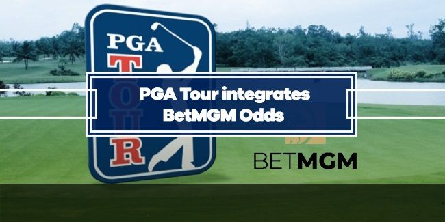 BetMGM to provide Betting Odds for PGA Tour
