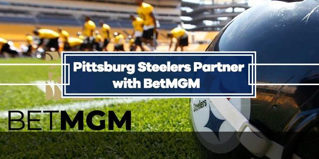 Pittsburgh Steelers Announce Multi-Year Partnership with BetMGM