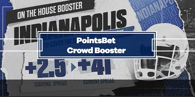 PointsBet Indianapolis Colts Crowd Booster