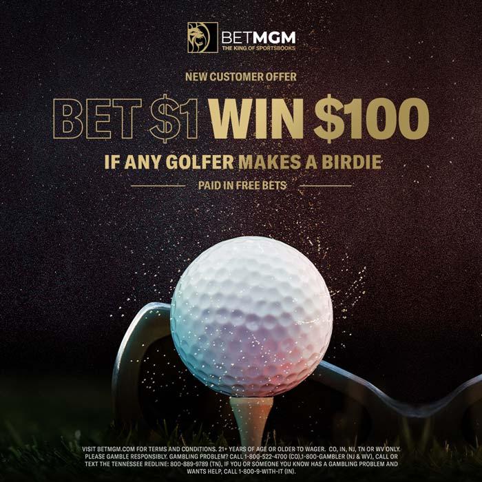 betmgm US Masters 2020 Bet $1 Win $100