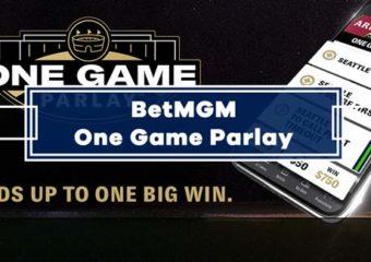 BetMGM One Game Parlay Builder Guide