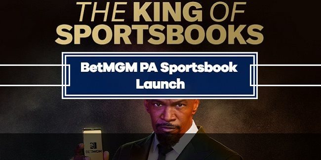 BetMGM Launched Online Sports Betting in Pennsylvania
