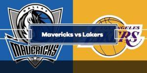 Mavericks vs Lakers Picks & Predictions