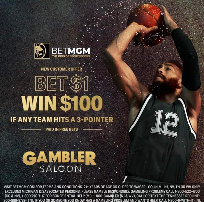 betmgm nba offer Bet $1 Win $100