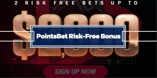 PointsBet Welcome Bonus - $2000 Risk-Free Bets