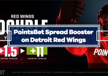 Detroit Red Wings PointsBet Booster: +11 Spread vs Panthers