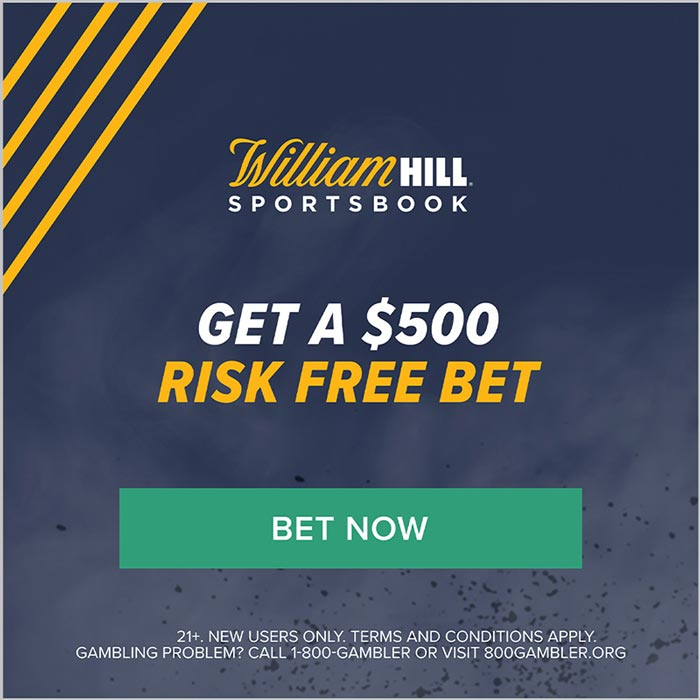 william hill $500 risk-free