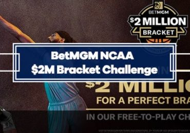 BetMGM NCAA Bracket Challenge - Enter for a Chance at $2 Million