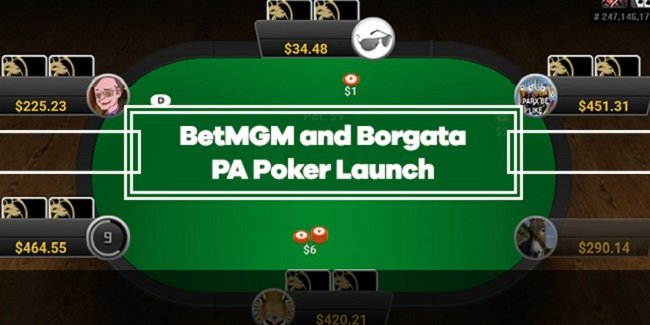 BetMGM and Borgata Online Poker Sites are live in Pennsylvania