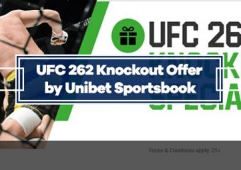 UFC 262 Knockout Special by Unibet – Get $10 for Every KO on Main Card