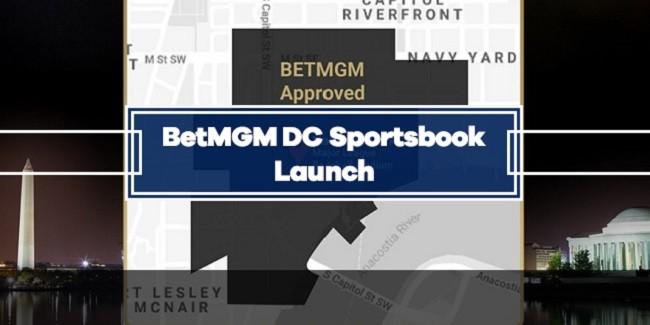 BetMGM Online Sports Betting Launch in Washington DC