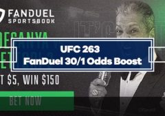 FanDuel UFC 263 Special Boost – 30/1 odds on Adesanya or Vettori to Win